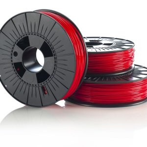 Ultimaker Red PLA is the perfect color for your valentine's day prints (if you don't spend the whole day trying to print!)